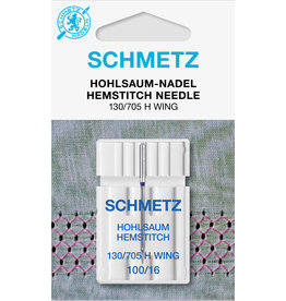 Schmetz Wingnaald - Hem Stitch needle 130/705H 100/16