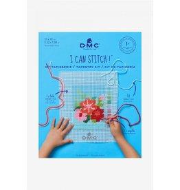 DMC DMC Kinderborduurpakket I can Stitch Bloemen