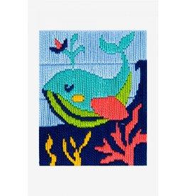 DMC DMC Kinderpakket I can stitch walvis
