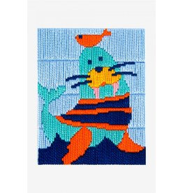DMC DMC Kinderspansteekpakket I can stitch Zeehond