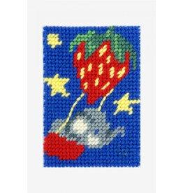 DMC DMC Kinderkruissteekpakket I can stitch olifant in luchtballon