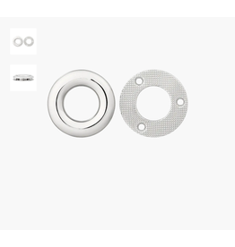 Prym Union Knopf Metalen ring 35mm zilver