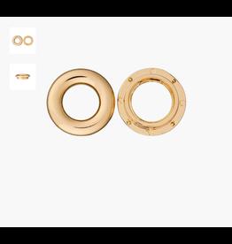 Prym Union Knopf metalen ring 35mm goud