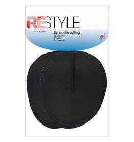 Restyle Restyle schoudervulling rond zwart