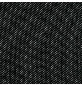 Knitted jacquard zwart