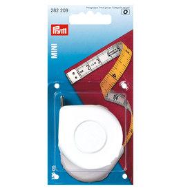 Prym Rolcentimeter Mini cm/cm geel/wit 150 cm - 1 stuks/pce