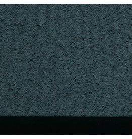 Softshell knitted blauw/zwart