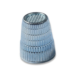 Prym Vingerhoed zinkdruk verchroomd 18,0 mm zilverkleurig - 1 stuks/pce