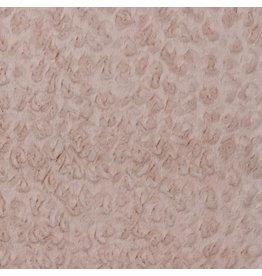 Fur/Teddy roze Oeko-Tex