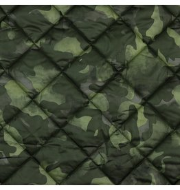 Stepped camouflage gewatteerd