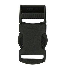 Restyle Restyle klikgesp 25mm  zwart
