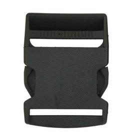 Restyle Restyle klikgesp zwart 50mm