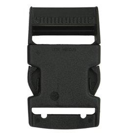 Restyle Restyle klikgesp zwart 40mm