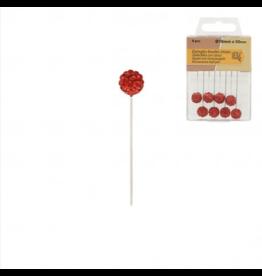 Mediac Mediac 5 Rhinestone ball pins