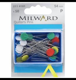 Milward Milward 50 quilters pins 54mm