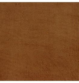 Ribfluweel cognac-kleur Oeko-Tex