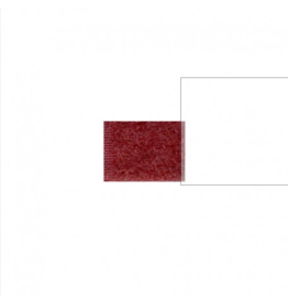 Stéphanoise Velcro 2cm bordeaux 72