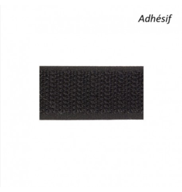 Mediac Velcro Zelfklevend haak 5cm zwart