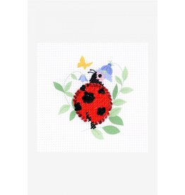 DMC DMC I can stitch kinderborduurpakket lieveheerstbeestje
