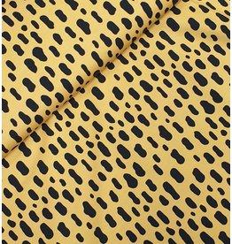Eva Mouton Cheetah pattern geel