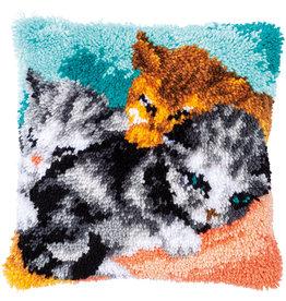 Vervaco Vervaco Knoopknussen Snoelelige kittens