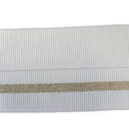 Vervaco Vervaco Sierelastiek wit/goud 57mm