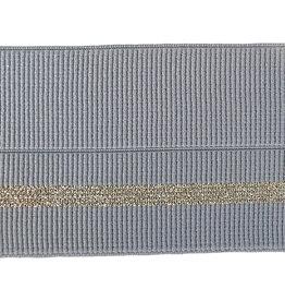 Vervaco Vervaco sierelastiek grijs/goud