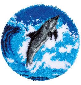Vervaco Vervaco knooppakket tapijt dolfijn