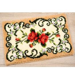 Vervaco Vervaco Knooppakket tapijt Klassiek met rozen