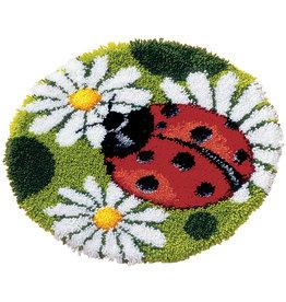 Vervaco Vervaco knooppakket tapijt Lieveheersbeestje