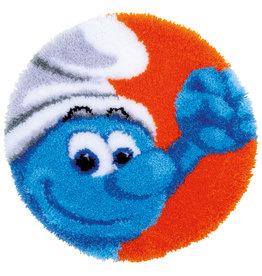Vervaco Vervaco knooppakket tapijt Smurf