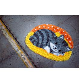 Vervaco Vervaco knooppakket tapijt poesje