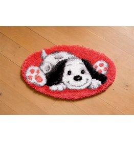 Vervaco Vervaco knooppakket tapijt Spelende hond
