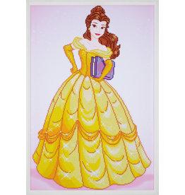 Vervaco Diamond painting Disney Belle