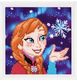 Vervaco Diamond painting Frozen Anna
