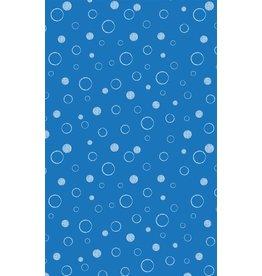 Vervaco Michael Miller 100% katoen bubbels lichtblauw
