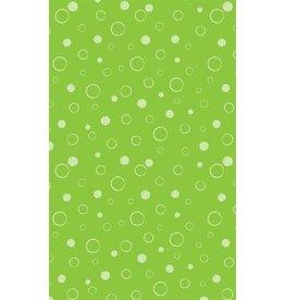 Michael Miller Michael Miller 100% katoen bubbels groen