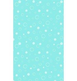 Michael Miller Michael Miller 100% katoen bubbels turquoise