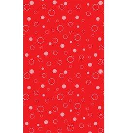 Michael Miller Michael Miller 100% katoen bubbels rood