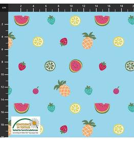 Stoffabrics Jersey zomerfruit