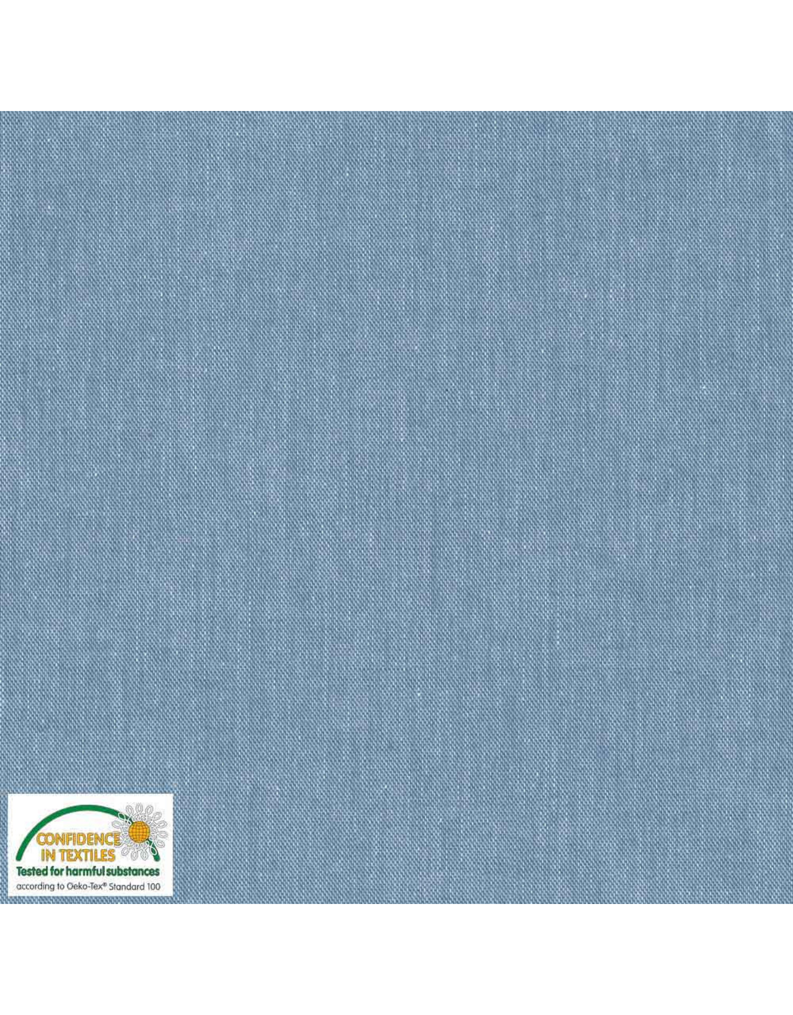 Stoffabrics 100% katoen lichtblauw