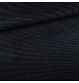 Editex Ribfluweel zwart