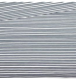 Eva Mouton Eva Mouton French terry blauwe streepjes