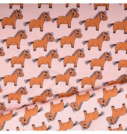 Eva Mouton Eva Mouton tricot-katoen pony roze
