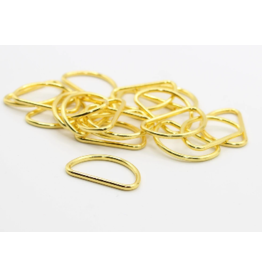 Prym D-ringen goud 30mm 2 st.