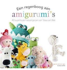 Boek: een regenboog aan amigurumi's