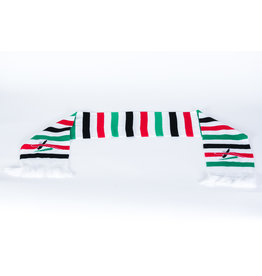 Sjaal streep wit