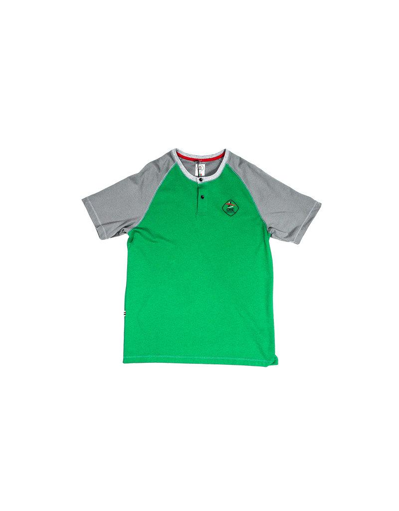 Shirt groen - grijs