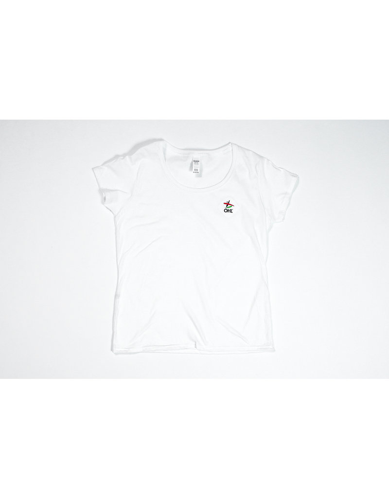 T-shirt wit vrouwen