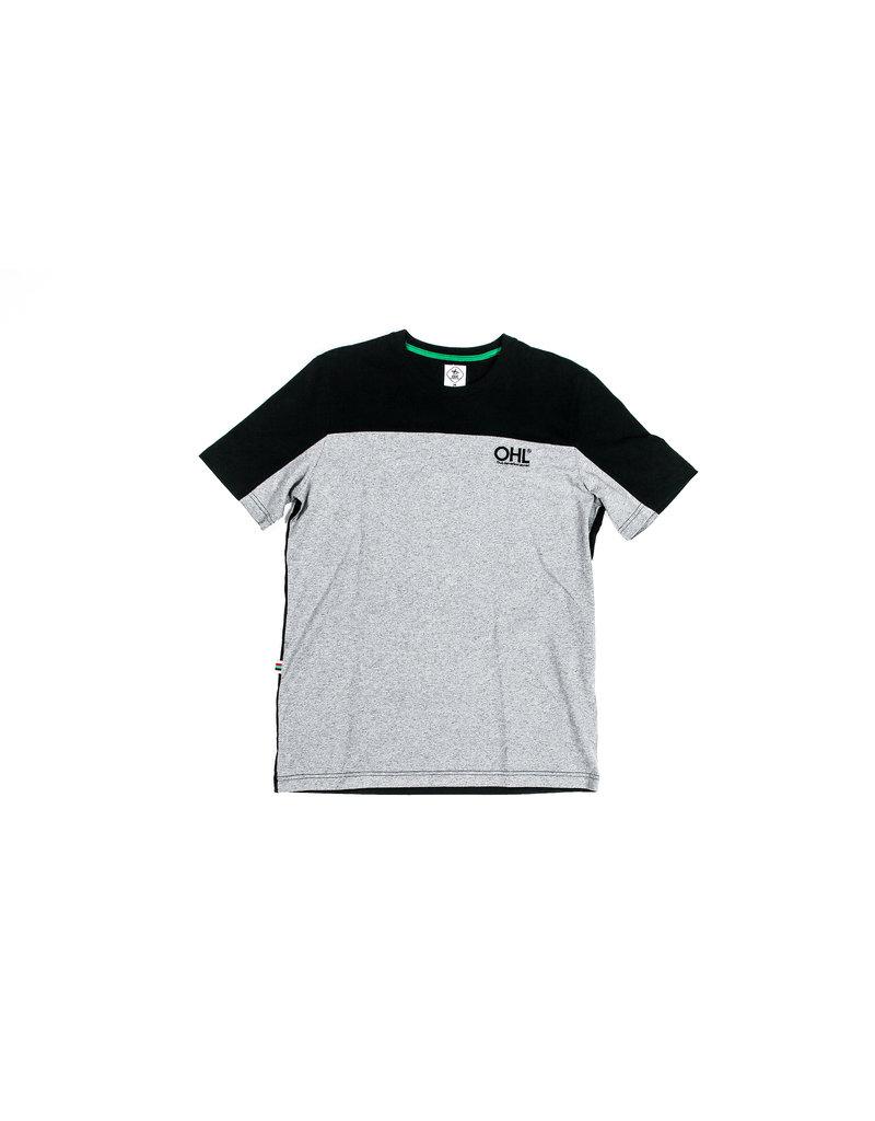 Shirt grijs-zwart